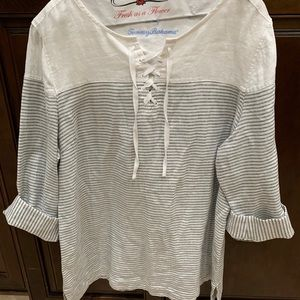 Tommy Bahama Striped Top